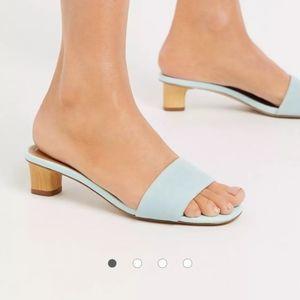 NWOB Who What Wear Aqua Nicola Sandals